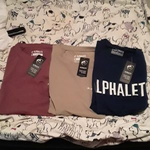 Alphalete men's t shirts